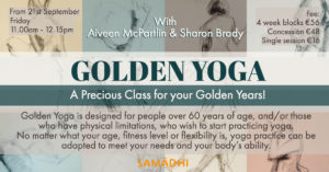 GOLDEN YOGA – A Precious Class For Your Golden Years