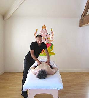 massage in Samadhi Yoga Drogheda with Slava