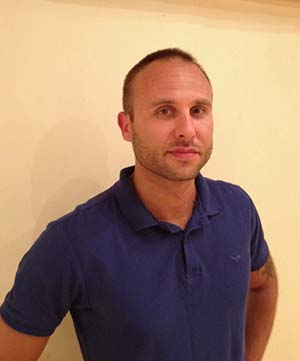 Slava M, massage therapist and back specialist, Samadhi Yoga Drogheda