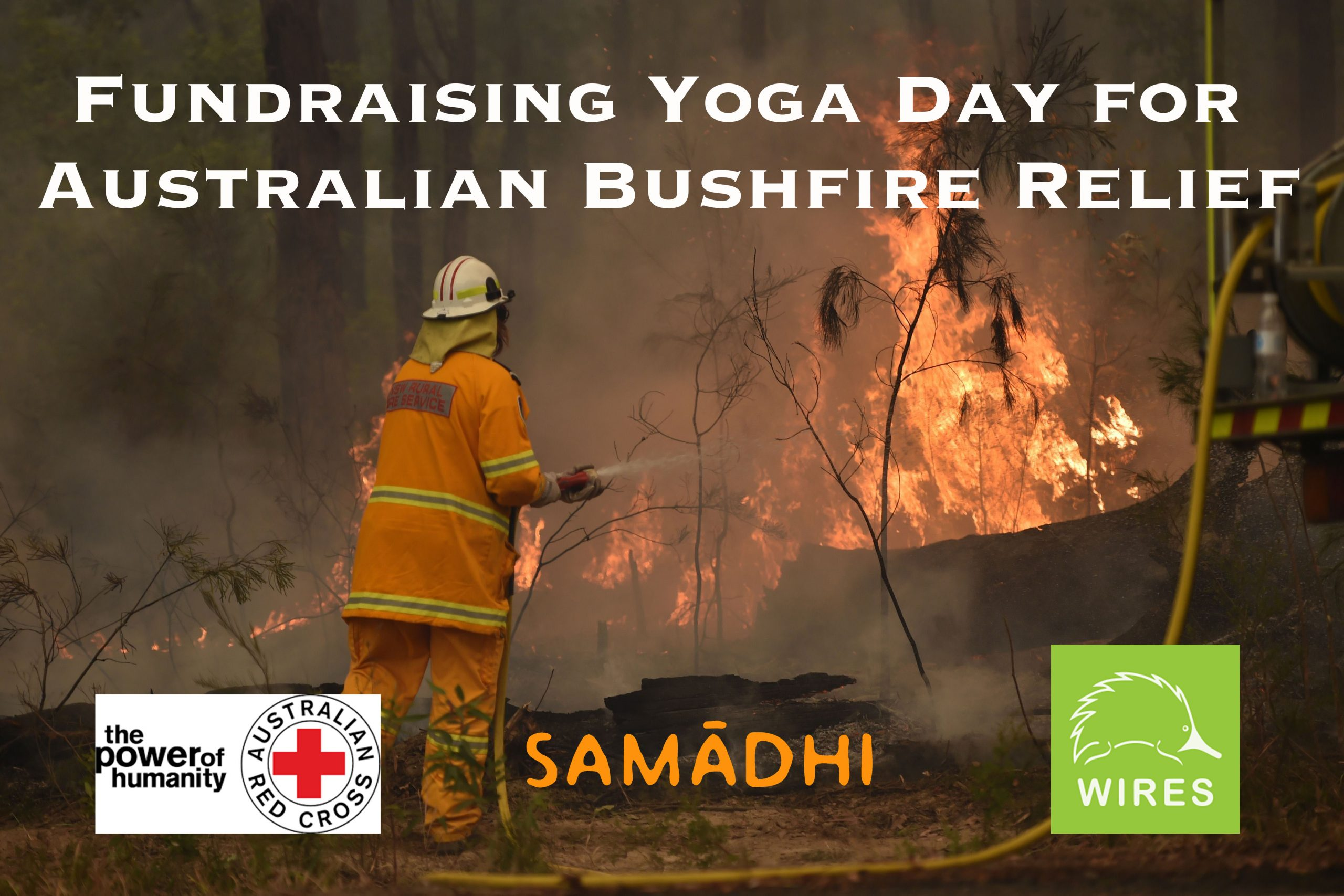 Fundraising Yoga Day for Australian Bushfire Relief