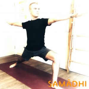 Virabhadrasana 2 or warrior 2